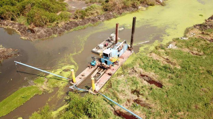 API presenta avance del 16% en Laguna Valle de las Garzas