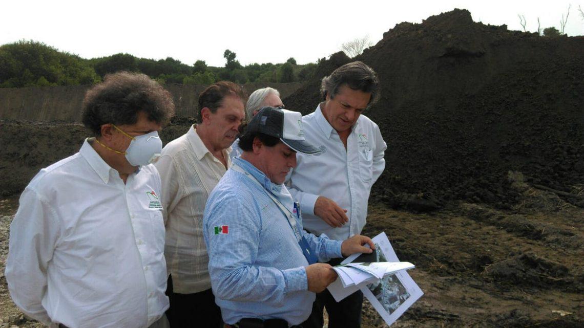 Guillermo Ruiz de Teresa supervisó avances del dragado en la Laguna Valle de las Garzas