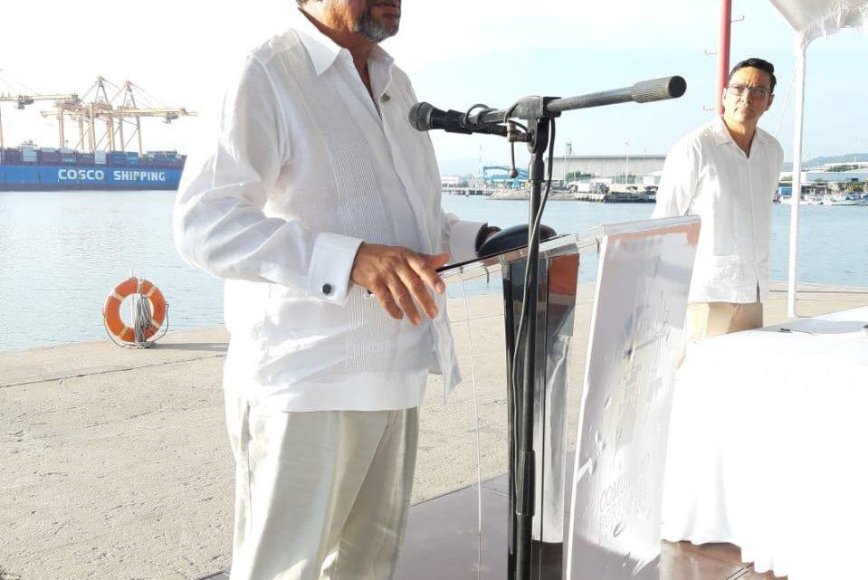 Preside Hector Mora AC  de  la comunidad portuaria